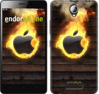 "Чехол на ZTE L110 Apple fire ""1292u-435"""