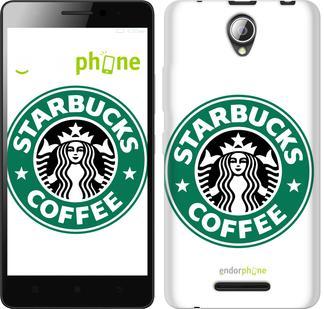"""Чехол на ZTE L110 Starbucks. Logo """"3085u-435"""""""