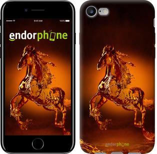 "Чехол на iPhone 7 Стеклянная лошадь ""501c-336"""