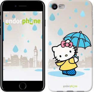 "Чехол на iPhone 7 Hello kitty. Its raining ""675c-336"""
