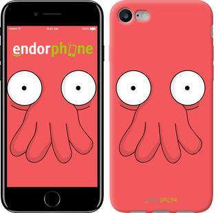 "Чехол на iPhone 7 Футурама. Зойдберг ""668c-336"""