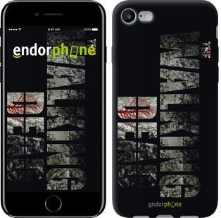 "Чехол на iPhone 7 The Walking Dead v2 ""3058c-336"""