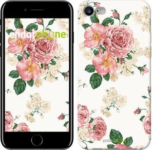 """Чехол на iPhone 7 цветочные обои v1 """"2293c-336"""""""