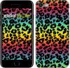 Чехол на iPhone 7 Радужная шкура леопарда