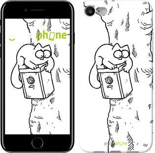 "Чехол на iPhone 7 Кот Саймона. На дереве ""651c-336"""