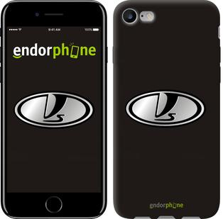 "Чехол на iPhone 7 ВАЗ. Logo v1 ""3177c-336"""