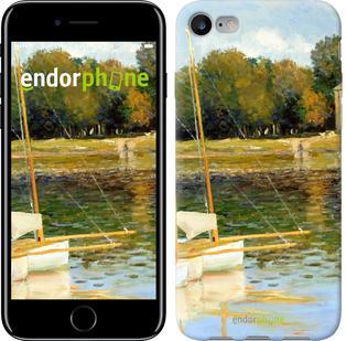 "Чехол на iPhone 7 Клод Моне. Мост в Аржантее ""164c-336"""