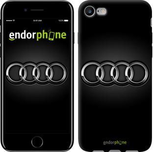 """Чехол на iPhone 7 Audi. Logo v3 """"3106c-336"""""""