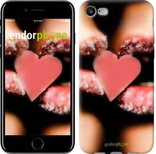 """Чехол на iPhone 7 Сахарное сердце """"716c-336"""""""