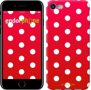"""Чехол на iPhone 7 Градиент, Горошек """"3505c-336"""""""
