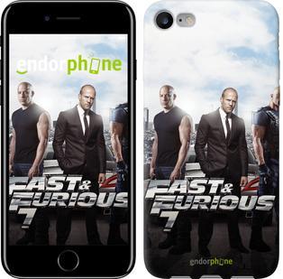 "Чехол на iPhone 7 Форсаж 7 ""2602c-336"""