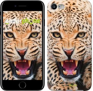 """Чехол на iPhone 7 Леопард """"846c-336"""""""