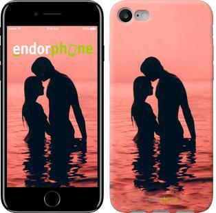 "Чехол на iPhone 7 Влюблённые на море ""739c-336"""