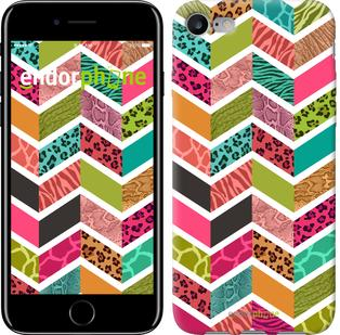 "Чехол на iPhone 7 Шеврон v3 ""1058c-336"""