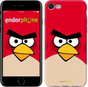 Фото Чехлы для телефонов, Чехлы для iPhone, Чехлы для iPhone 7 Чехол на iPhone 7 Angry birds. Red.