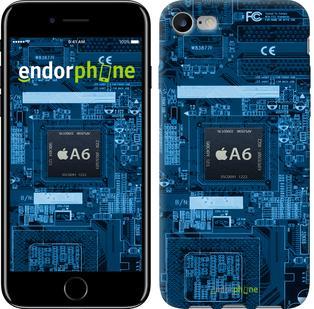 "Чехол на iPhone 7 Технологии ""3199c-336"""