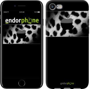 "Чехол на iPhone 7 Leopard's apple ""2344c-336"""