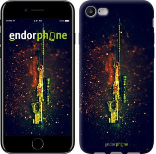 "Чехол на iPhone 7 Снайперская винтовка ""2817c-336"""