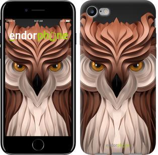 "Чехол на iPhone 7 Абстрактная сова ""3261c-336"""