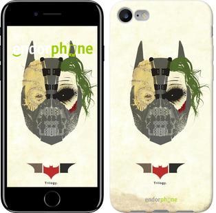 """Чехол на iPhone 7 Batman. Trilogy """"910c-336"""""""