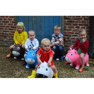 Фото Детский транспорт , Прыгуны, качалки  Прыгун Kidzzfarm Horse Harry надувной (Голландия)