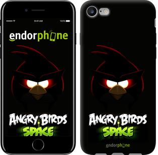 "Чехол на iPhone 7 Angry birds. Space on a black background ""538c-336"""