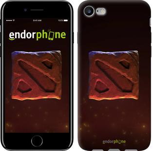 """Чехол на iPhone 7 Dota 2. Logo 3 """"982c-336"""""""