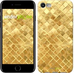 """Чехол на iPhone 7 Текстура цвета золото """"2538c-336"""""""