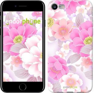 """Чехол на iPhone 7 Цвет яблони """"2225c-336"""""""