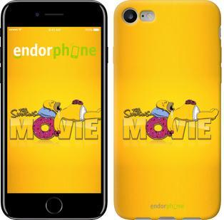 "Чехол на iPhone 7 Симпсоны. Movie ""198c-336"""