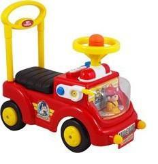 Детская каталка Baby Mix Пожарная машина