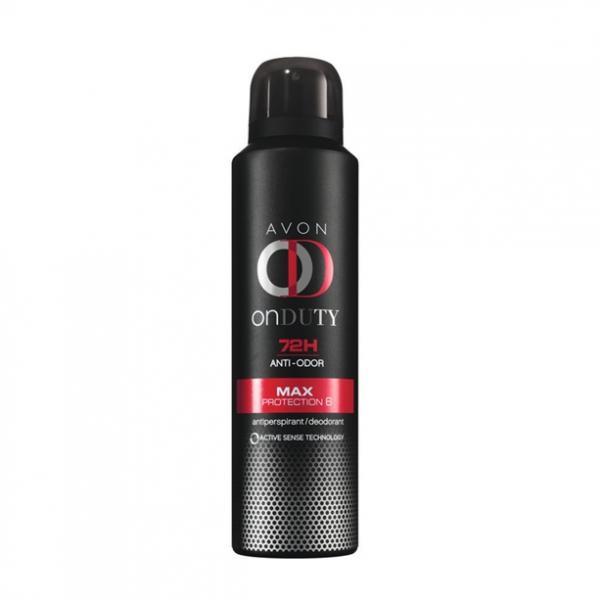 Дезодорант-антиперспирант спрей «Максимальный эффект» для мужчин, 150 мл