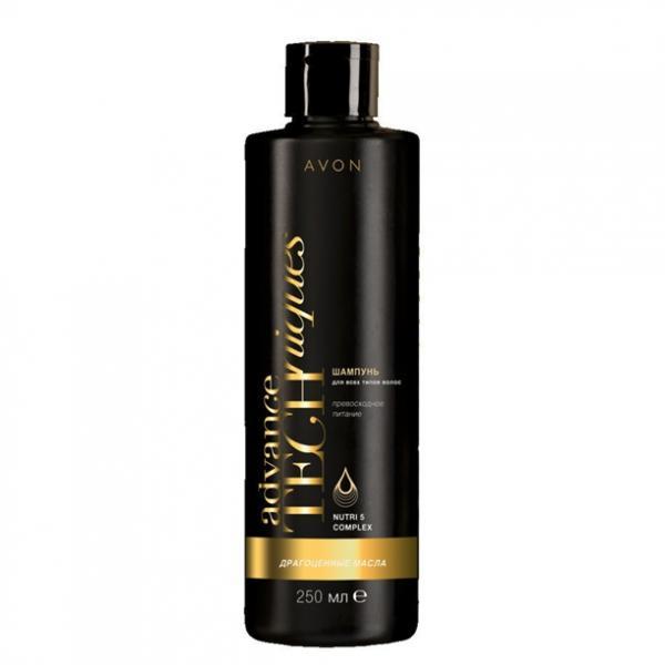 Шампунь для всех типов волос «Драгоценные масла», 250 мл