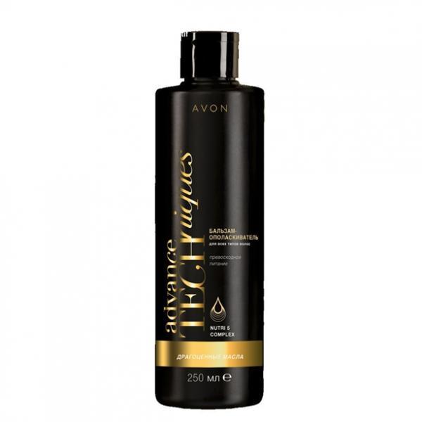 Бальзам-ополіскувач для всіх типів волосся «Дорогоцінні олії», 250 мл