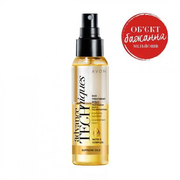 Двухфазная сыворотка-спрей для всех типов волос «Драгоценные масла» (100 мл)