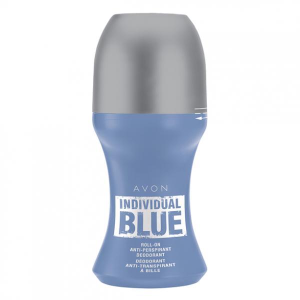 Дезодорант-антиперспирант с шариковым аппликатором Individual Blue, 50 мл