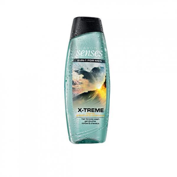 Шампунь-гель для душа для мужчин с дезодорирующим эффектом «Экстрим» (500 мл)