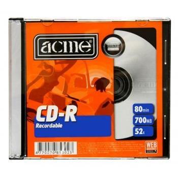 CD-R 700 Мб 52х Acme (разное кол-во в уп. и ЦЕНЫ, см. подробнее)