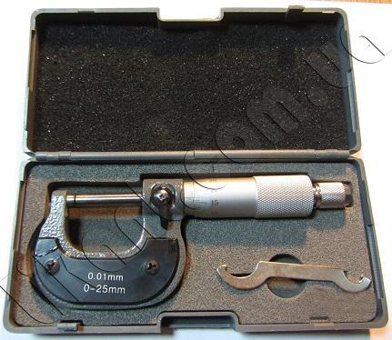 Микрометры МК 0-25гладкий