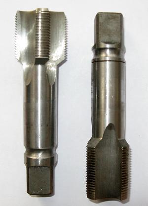 Метчик м/р М 14х2,0 левый к-т