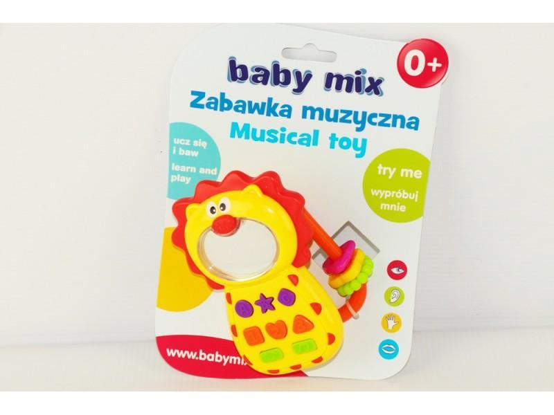 Музыкальный телефон для маленьких Baby Mix
