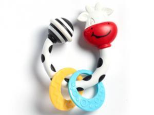 Фото       Для малышей, Игрушки для малышей , Прорезыватели, грызунки  Погремушка-прорезыватель