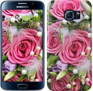 """Чехол на Samsung Galaxy S6 G920 Нежность """"2916c-80"""""""