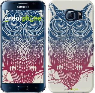 "Чехол на Samsung Galaxy S6 G920 Сова 2 ""2726c-80"""