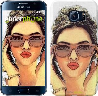 "Чехол на Samsung Galaxy S6 G920 Девушка_арт ""3005c-80"""