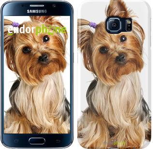 """Чехол на Samsung Galaxy S6 G920 Йоркширский терьер с хвостиком """"930c-80"""""""