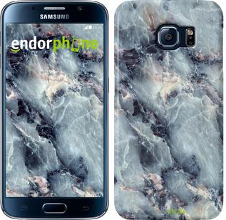 "Чехол на Samsung Galaxy S6 G920 Мрамор ""3479c-80"""