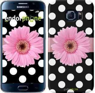 "Чехол на Samsung Galaxy S6 G920 Горошек 2 ""2147c-80"""