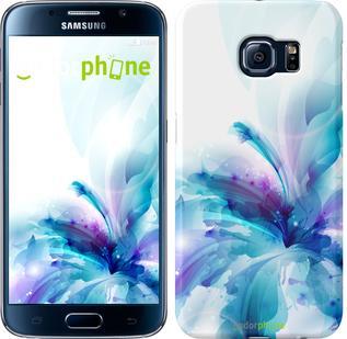 "Чехол на Samsung Galaxy S6 G920 цветок ""2265c-80"""