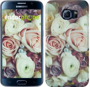 Фото Чехлы для Samsung Galaxy S6 G920 Чехол на Samsung Galaxy S6 G920 Букет роз
